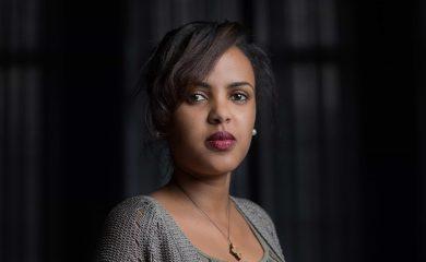 Frau aus Eritrea